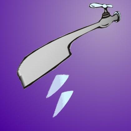 h20 tap color illustration
