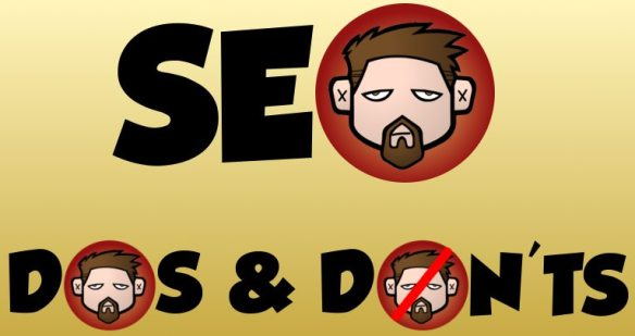 SEO Dos and Don'ts article graphic