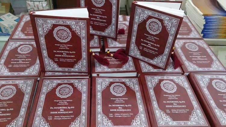 Cetak Buku Yasin Tahlil Murah Souvenir Online