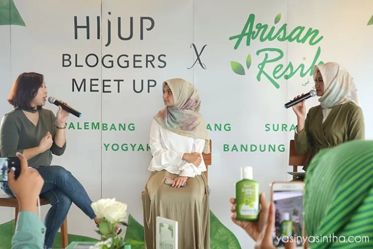 arisan resik, blogger, hijup, blogger meet up