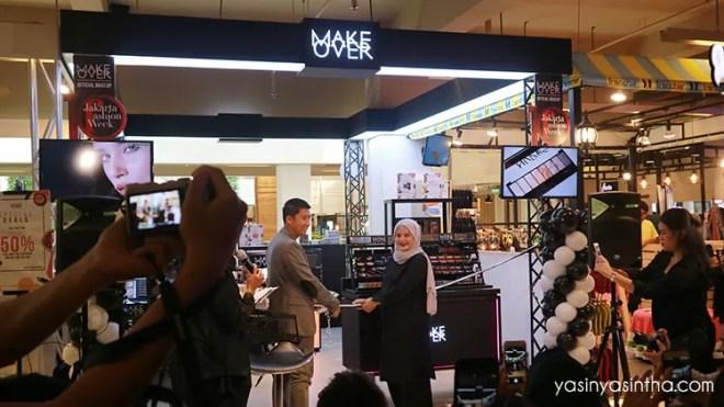 MAKE over launching, blogger bandung, blogger review, makeup