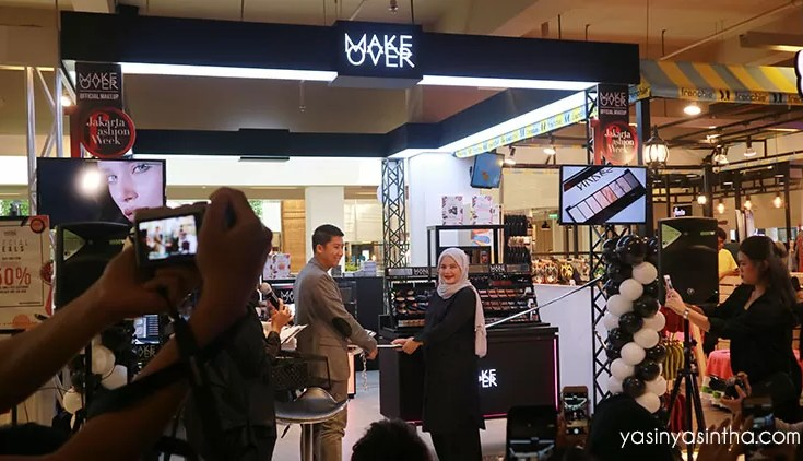 MAKE over launching, blogger bandung, blogger review, makeup