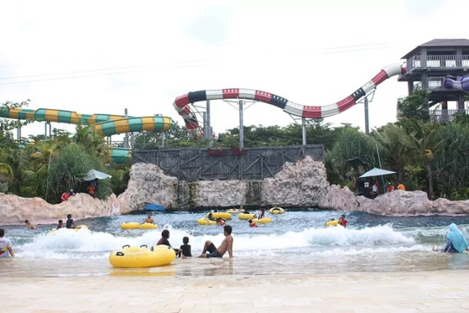 Yogya bay water park,