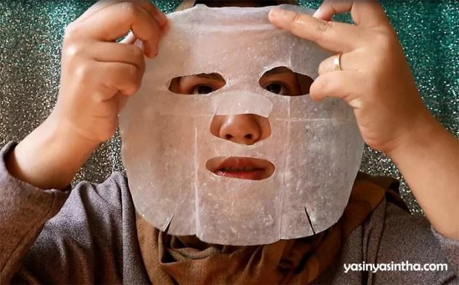 Fresh Vita mask SNP review, blogger bandung, blogger beauty