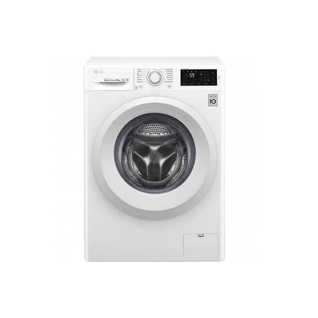 LG Front Load Washing Machine F4J5TNP3W 8KG