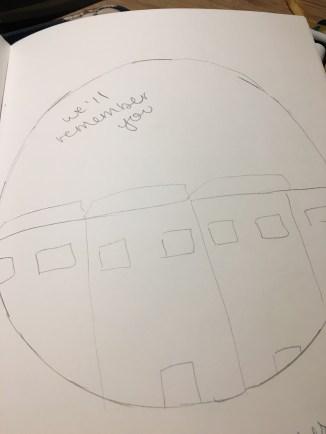 Bulidings- houses and school