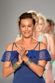 Gyunel: Runway - London Fashion Week SS15