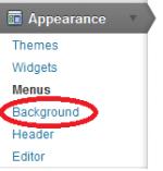 Custom Background-meny i WP 3.0+