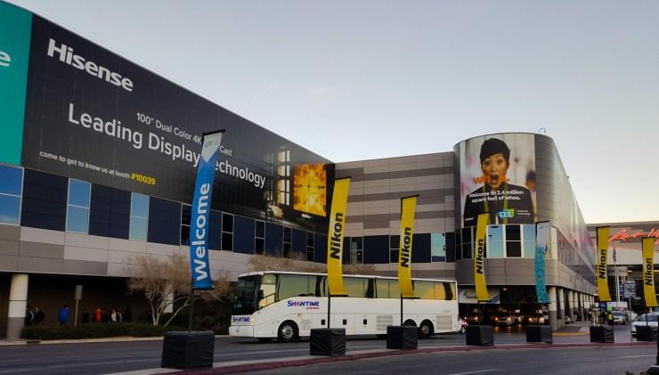 Las Vegas Convention Centre during CES 2017