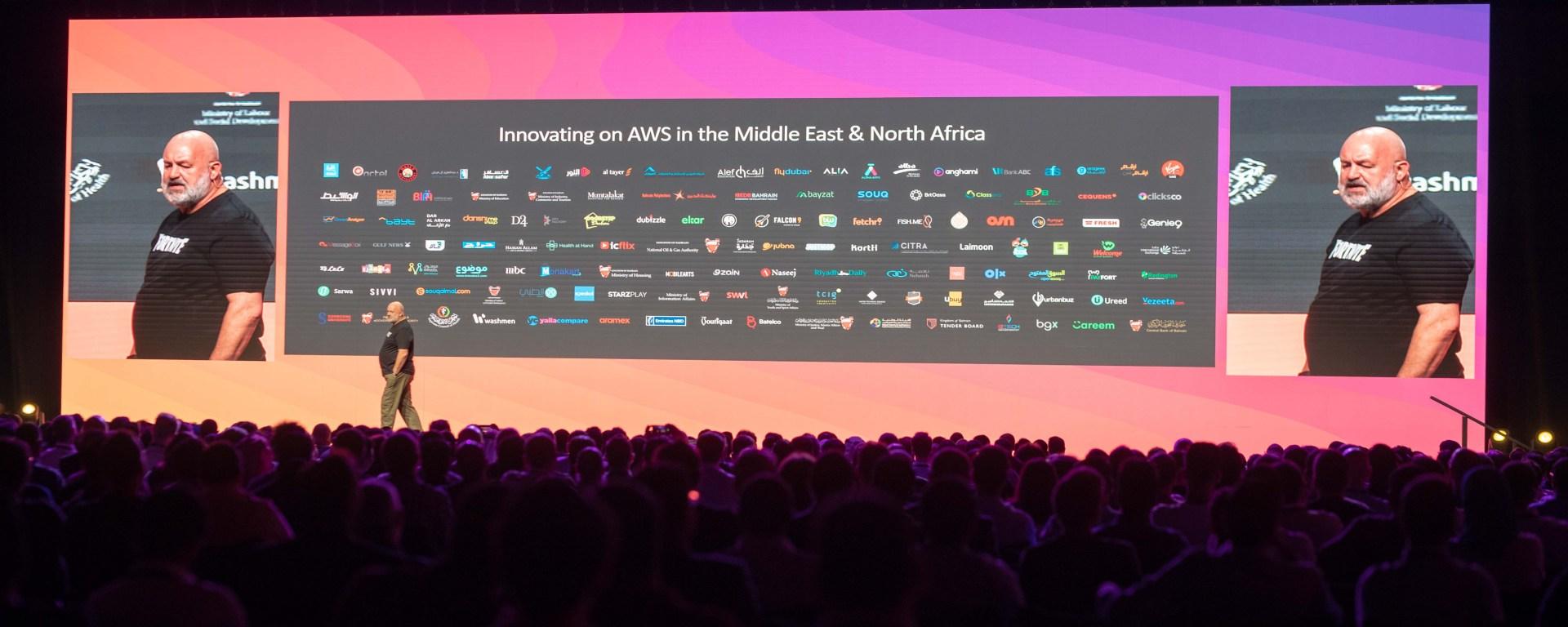 Dr. Werner Vogels, CTO Amazon at AWS Summit in Dubai