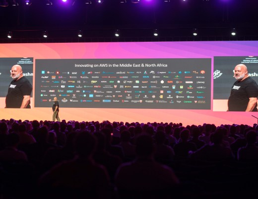 Dr. Werner Vogels, CTO Amazon at AWS Summit in Dubai