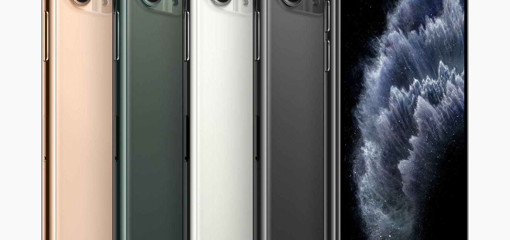 Apple iPhone 11 Pro colours