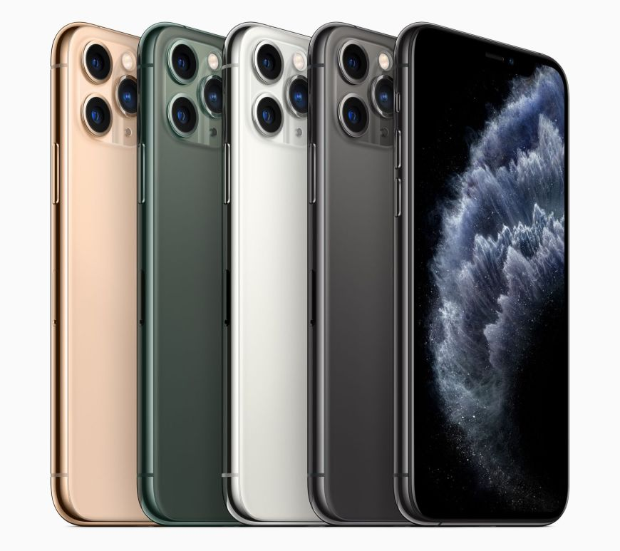 Apple iPhone 11 Pro colours