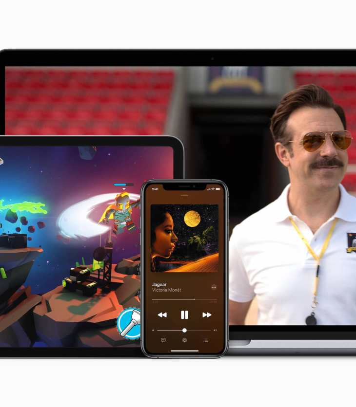 Apple One on iPad, iPhone and Mac