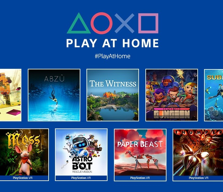 PlayStation Play At Home - 10 games from March 25