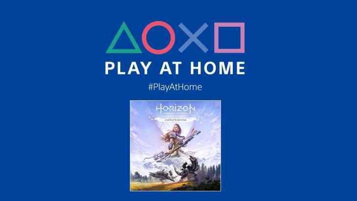 PlayAtHome Horizon Zero Dawn on PlayStation