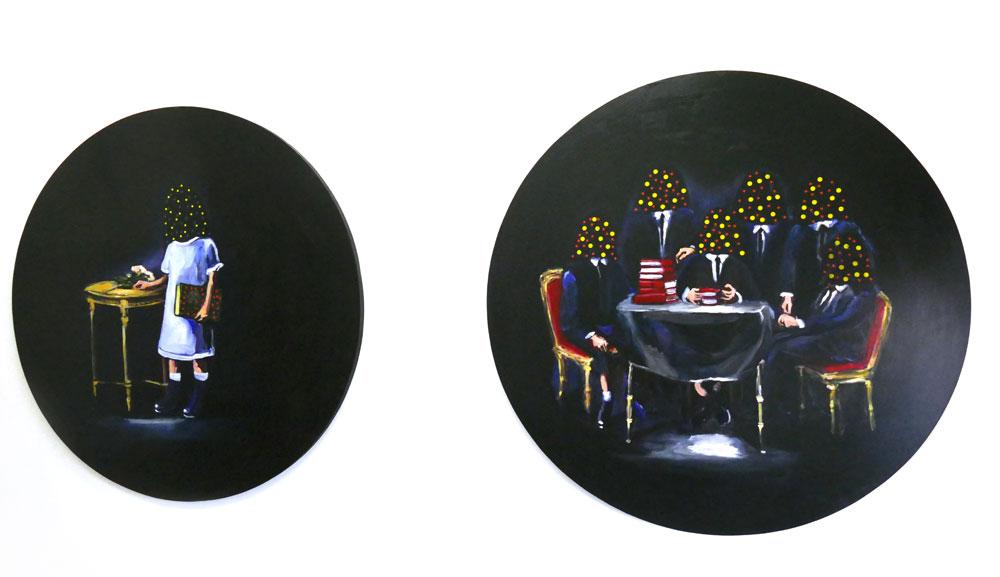 Yassine Balbzioui, Carte blanche à la galerie shart, Comptoir des Mines Galeries, Marrakech