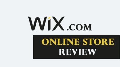 wix online store review