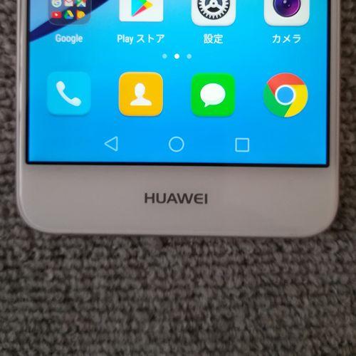 Huawei nova 前面 ホームボタン