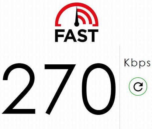 PIX-MT100 Fast.com 外部電源