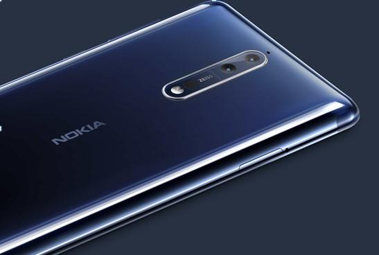 Nokia 8 デュアルカメラ