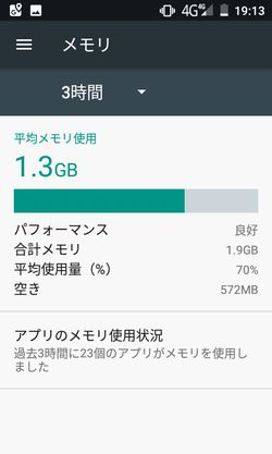 g06+ RAM状況