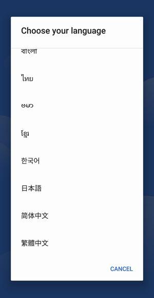 vkworld S8は日本語対応