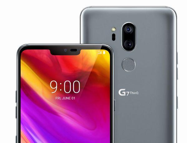 LG G7 ThinQのデュアルカメラ