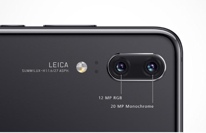 HUAWEI P20はライカ(Leica)のダブルレンズカメラを搭載