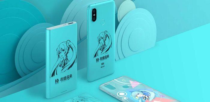 Xiaomi Mi 6X 初音ミク 特別版