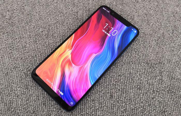 Xiaomiのフラグシップスマートフォン「Mi 8」
