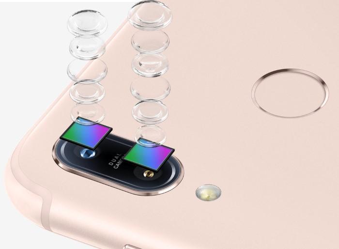 ZenFone Max (M1)のデュアルカメラ