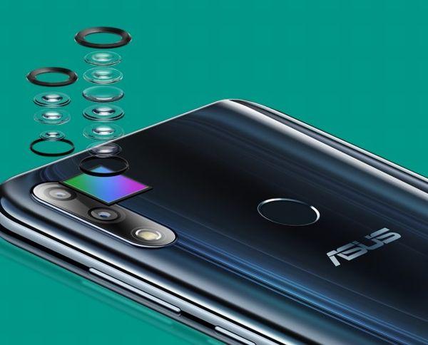 「ZenFone Max Pro M2」のデュアルカメラ