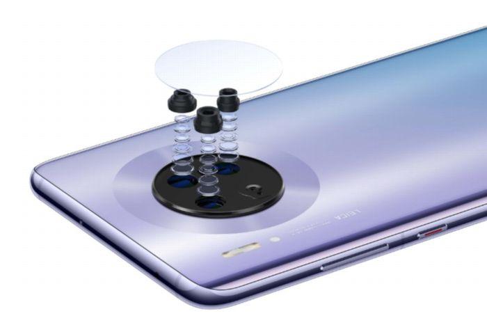 「Huawei Mate 30」のトリプルカメラ