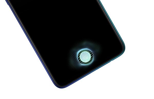 新生代センサー採用のディスプレイ内指紋認証センサー