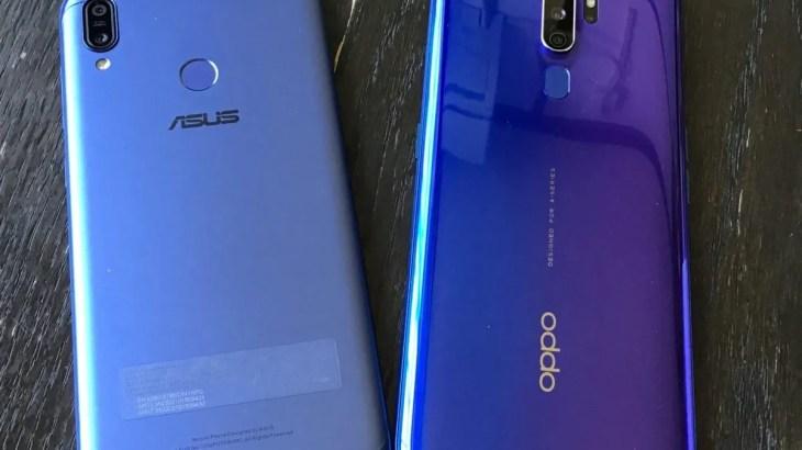 ZenFone Max (M2)から【OPPO A5 2020】に変更してみた。