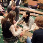 箏・三絃・尺八・笛による和楽器体験講座2回目