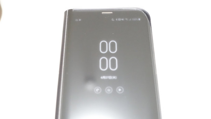 iPhoneからGalaxy S8 に乗り換えました:CLEAR VIEW STANDING CASEとAlways On Displayの複雑な関係