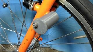 BikeFriday用ライトマウントを試作したが…