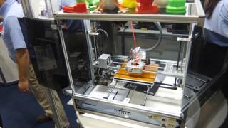 3Dプリンターを見てきた! MUTOH Value 3D MagiX MF-2000, MF-1000 編
