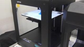 3Dプリンターを見てきた! Zortrax M200 はフィギュア製作などで人気の機種