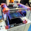 3Dプリンターを見てきた! Airwolf HD2xは強力ヒーターで25種以上の材料に対応するらしい。