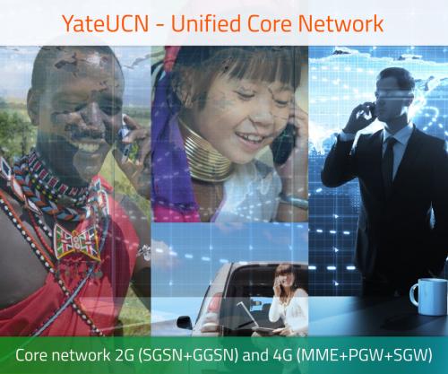 YateUCN unified core network