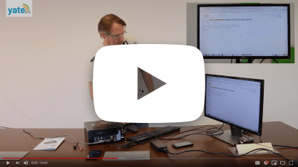 LTE LabKit unboxing video presented by David Burgess, the founder of YateBTS