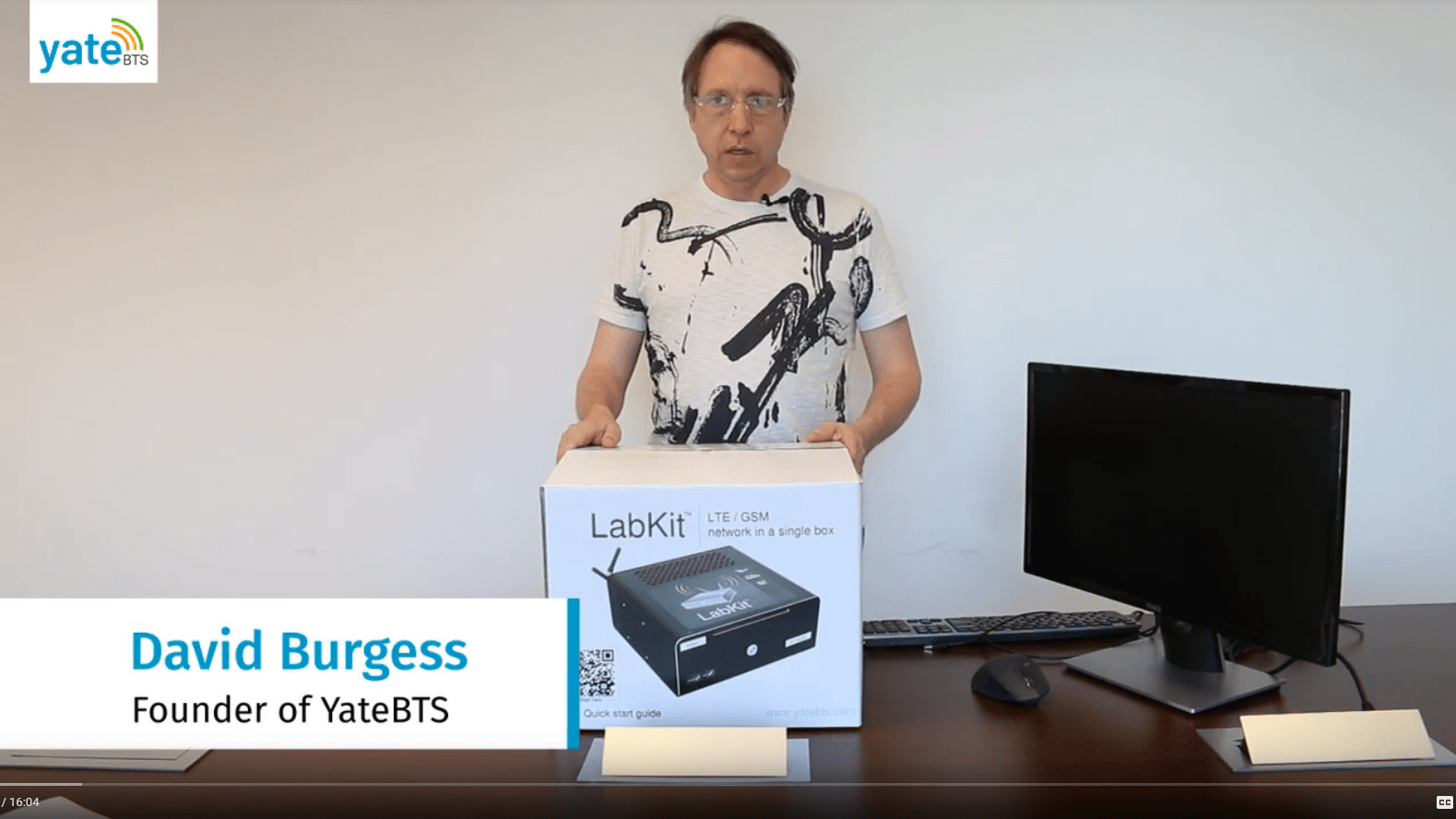 Unboxing of YateBTS LTE LabKit with David Burgess