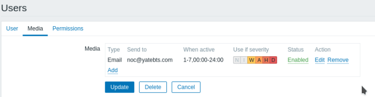 Set up Email alerts in Zabbix using a Gmail account 24