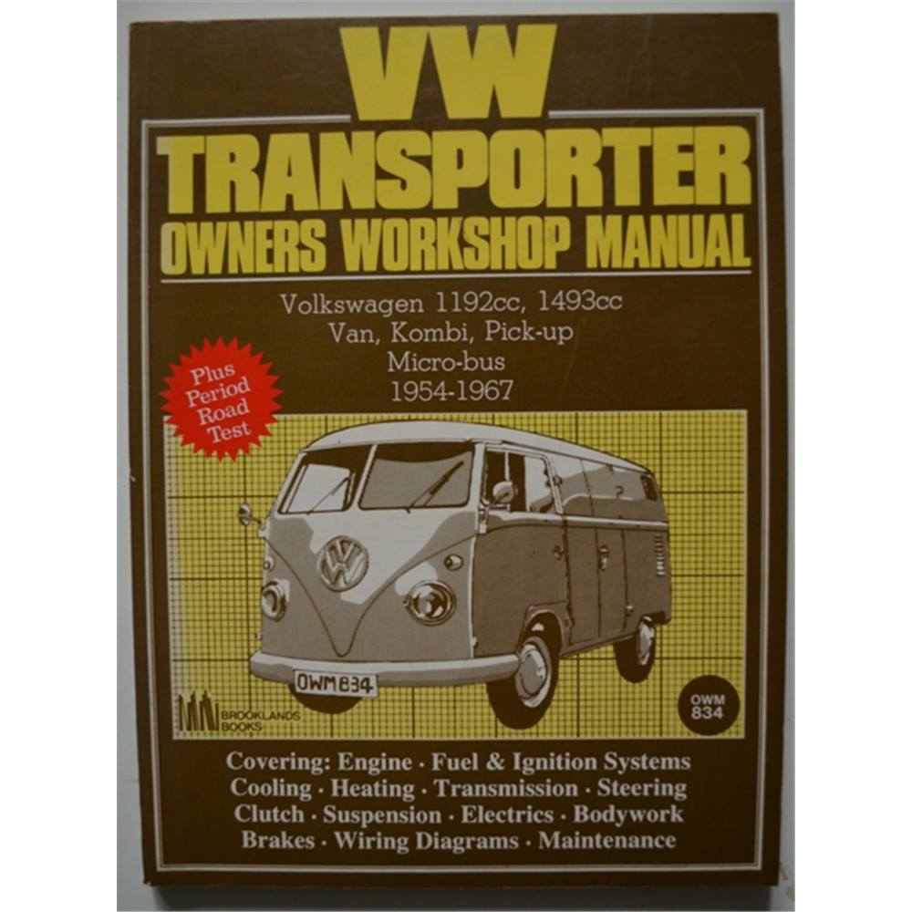 medium resolution of volkswagen workshop manual vw transporter 1954 67