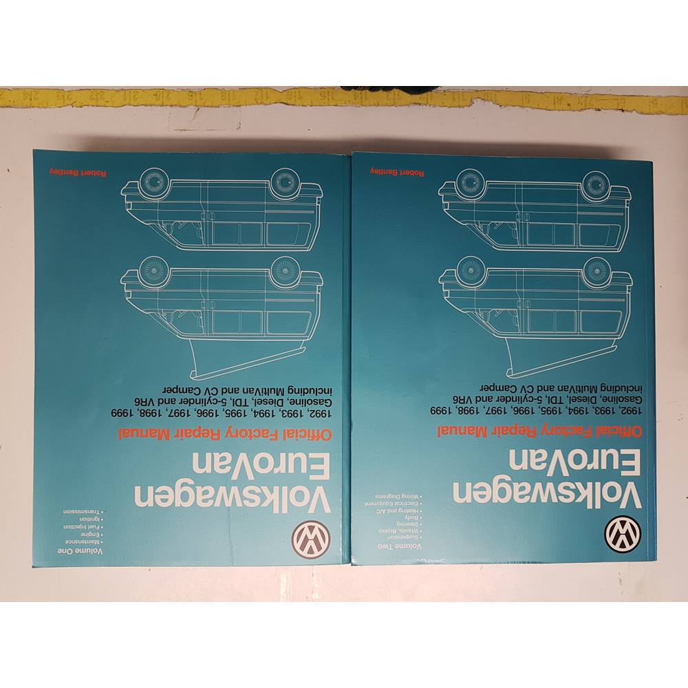 medium resolution of volkswagen eurovan official factory repair manual vol 1 and 2