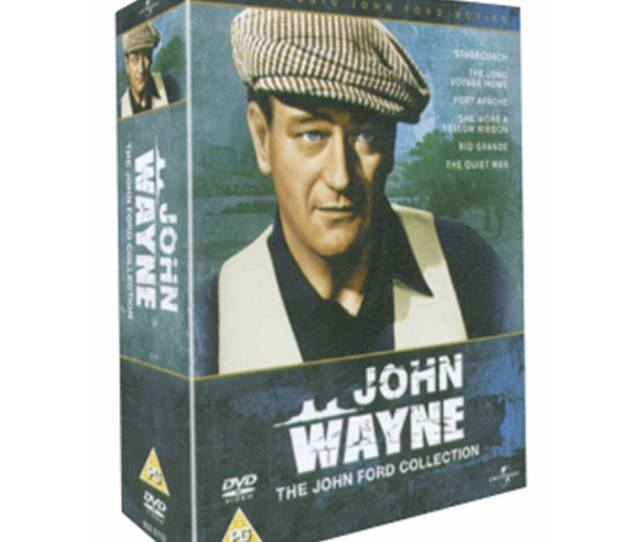 Oxfam Books Music Winchester Dvd Boxed Set Used Very Good Condition A Collection Of Six Classic Films Directed By John Ford And Starring John Wayne