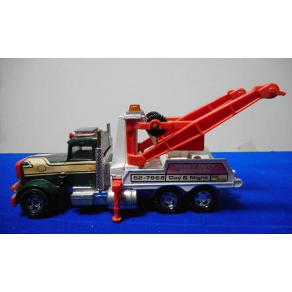 hight resolution of matchbox superkings 1978 k 20 peterbilt heavy duty recovery breakdown truck toy matchbox